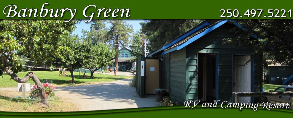 Banbury Green RV and Camping Resort, Okanagan, BC